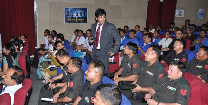 Naseer Khan the best motivational speaker in India